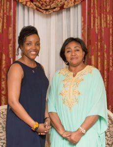 Denise Tshisekedi and Dr. Sandrine Mubenga, STEM DRC Iniative