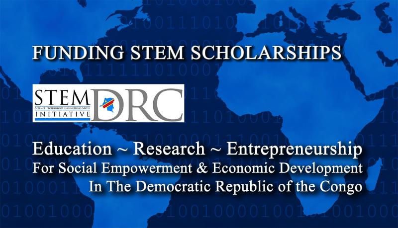 STEM DRC Initiative, STEM Scholarships for the Democratic Republic of the Congo DRC
